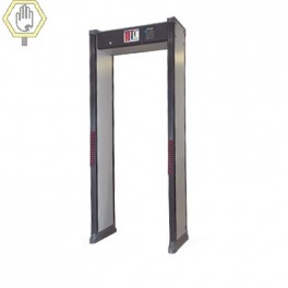 Arco Detector de Metales de 2 Zonas con Base para Fijarse al Piso.