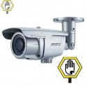 Cámara de Seguridad Día/Noche Real (ICR) Alta Resolución. Compensación inteligente de luz infrarroja
