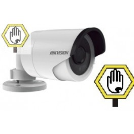 Cámara de Videovigilancia Tipo IP Bala 2 Megapixeles con IR Día/Noche Real