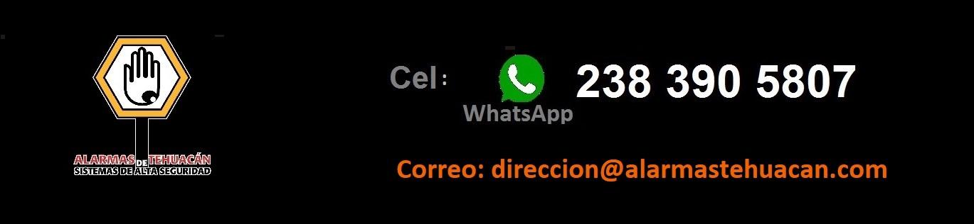 TELEFONO ALARMAS DE TEHUACAN